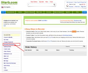 registracia na iHerb 4 - osobne informacie
