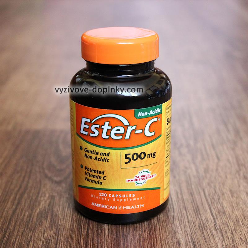 Ester-C - nekyslý vitamín c - askorbát vápenatý s postupným uvoľňovaním