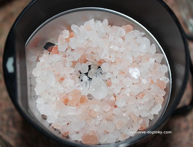 Himalájska soľ granule